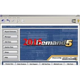 Newest Auto Repair Software Mitchell on demand 5 2015V repair software for most car